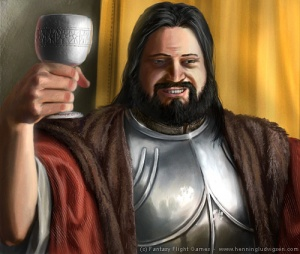 Drunken Robert Baratheon by henning.jpg