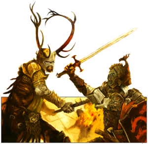 Robert against rhaegar by flaviusbaratheon-d5adttd.png